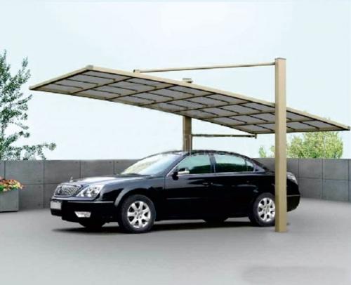 我们应该如何保养汽车车棚?