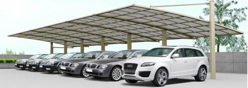 铝合金车棚为什么受欢迎?
