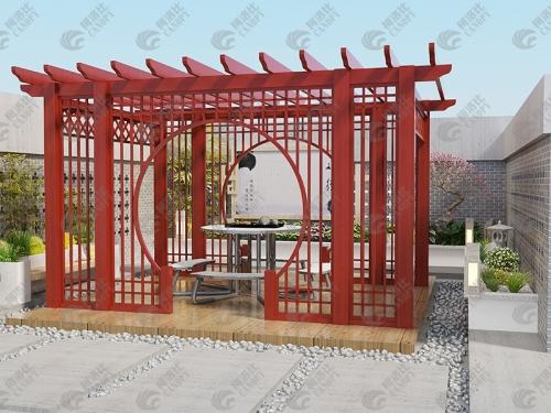 中式葡萄架价格